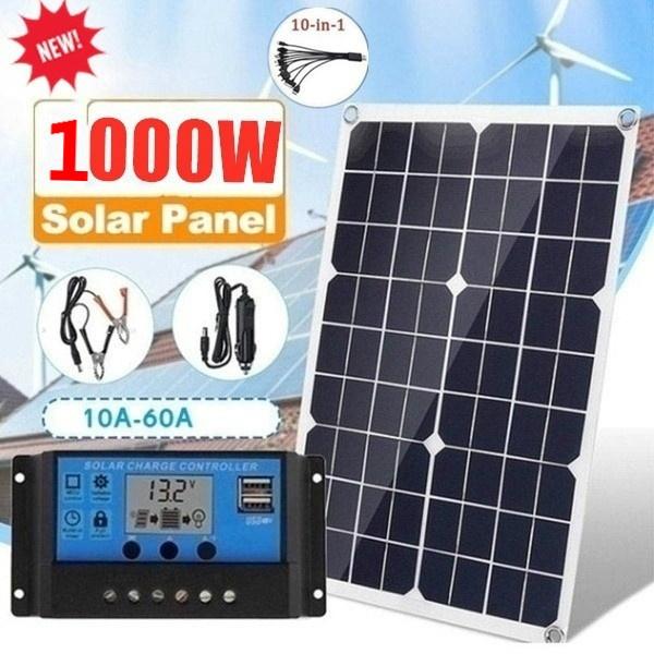 solarpanel2000w, usb, Waterproof, Battery