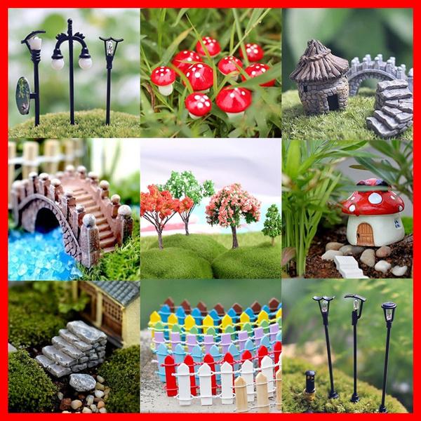 Decor, miniaturegarden, Garden, fairy