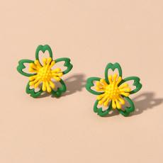 freshstyleearring, Flowers, Jewelry, Stud Earring