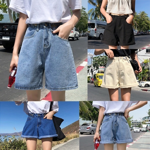 Summer, Shorts, Waist, Women jeans