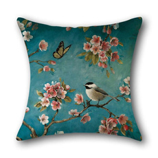 sheetsamppillowcase, Flowers, lover gifts, bedroompillowcover