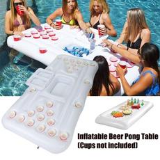 waterfloatingrow, poolparty, beerpongtable, Inflatable