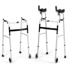 Wheels, walking, Adjustable, folding