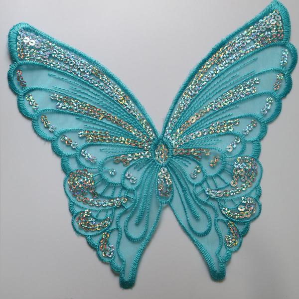 butterfly, decorativepatche, laceapplique, Fashion