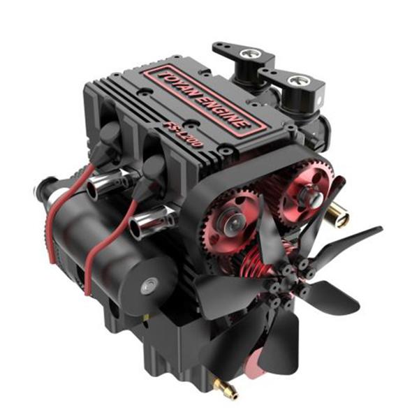 twocylinderfourstrokeengine, nitroenginemodel, Cars, toyanfsl200engine