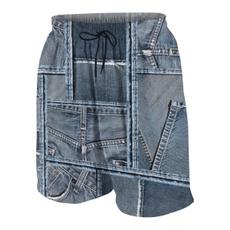 Blues, Summer, Beach Shorts, trainingshort