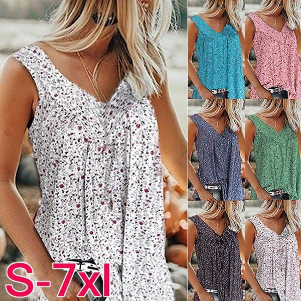 Women Vest, Vest, Plus Size, Summer