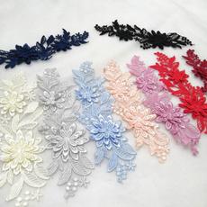 lace trim, diy, Flowers, Lace