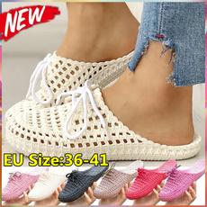 Summer, Sandals, Lace, Sandals & Flip Flops