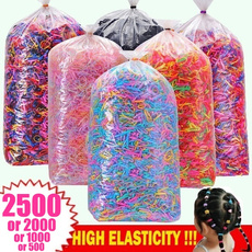 hair, colorfulhairrope, Elastic, candy