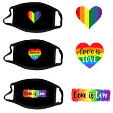 ranbow, Love, unisex, Masks