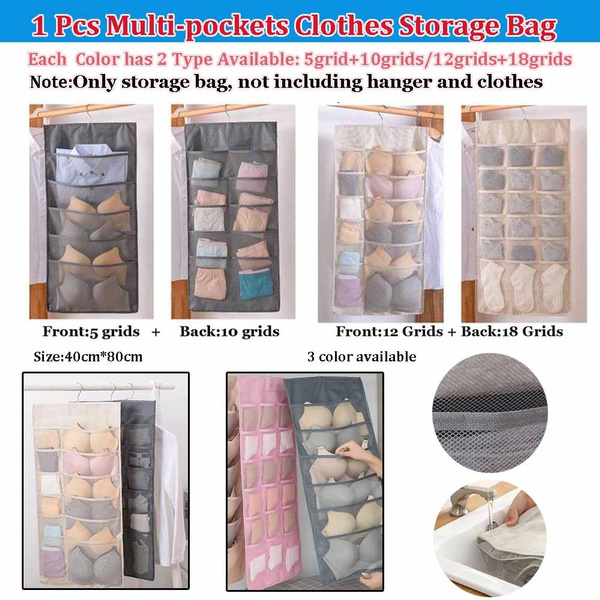 washable, multipocketstoragebag, underwarestoragebag, Storage