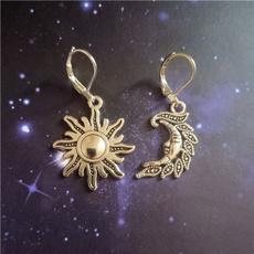 daintyearring, Graduation Gift, antiquesilverearring, Dangle Earring