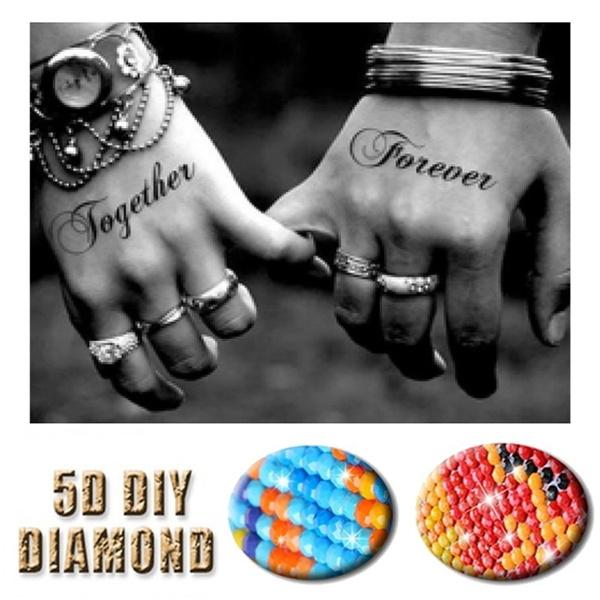 DIAMOND, art, Embroidery, Home & Living