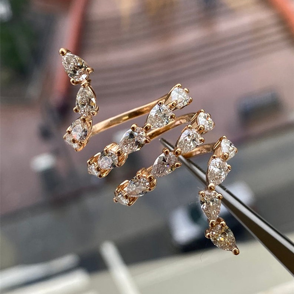 Fashion, jewelry fashion, 925 silver rings, snakering