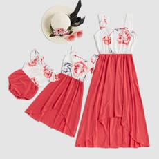 Summer, kidsgirldresse, Family, motheranddaughtermatching