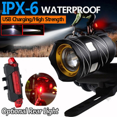 Flashlight, Bicycle, waterprooflight, flashlightsled