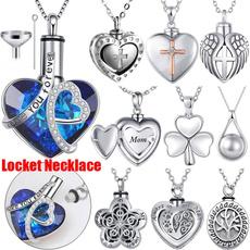 Steel, Heart, angelwing, Jewelry