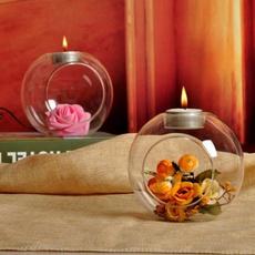 glasscandleholder, Decor, Romantic, barpartydecor