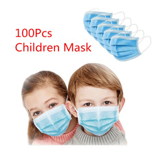 3layer, childrenmask, protectivemask, Masks