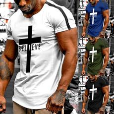 Summer, Fashion, Christian, Shirt