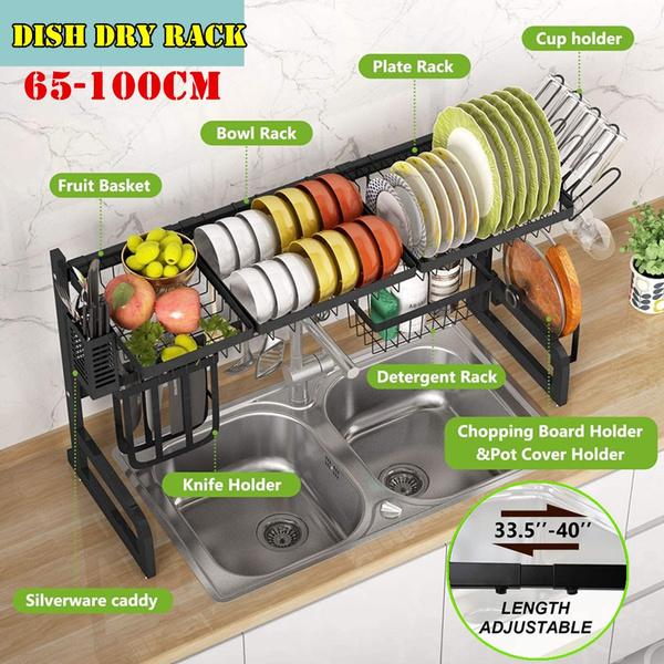 kitchenstoragerack, utensilsholder, Kitchen & Dining, dishdryingrack