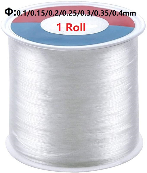 Thread, nylonthread, fishingwire, jewelrythread