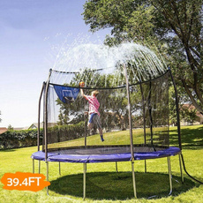 waterpark, trampolinesprinkler, Outdoor, sprinkler