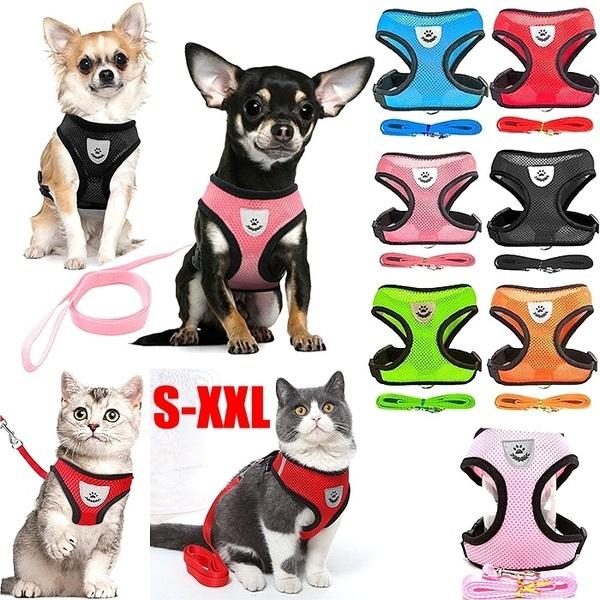 Vest, dogleadleash, Breathable, Harness