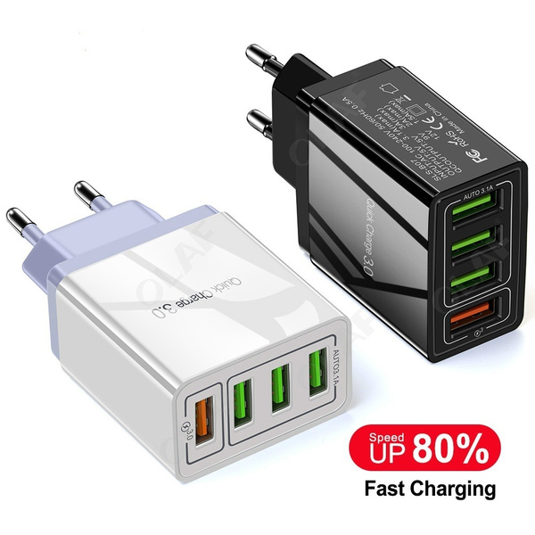 multiportcharger, usb, qc30carcharger, Mobile