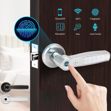 fingerprintunlock, Office, antitheftdoorlock, Home & Living