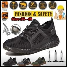Steel, safetyampsecurity, workshoe, Breathable