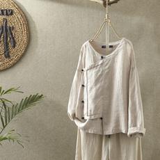 blouse, Fashion, vintagetop, solidcolortop