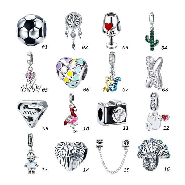 Charm Bracelet, Fashion, alloycharm, charmforpandorachain