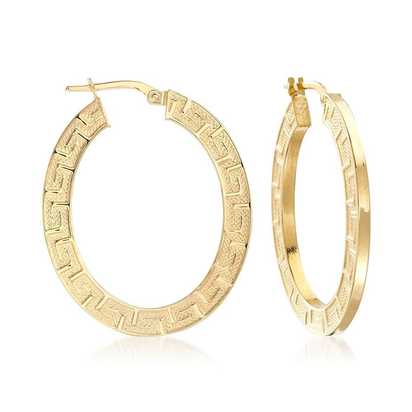 Hoop Earring, gold plated earrings, gold, hoopsearring