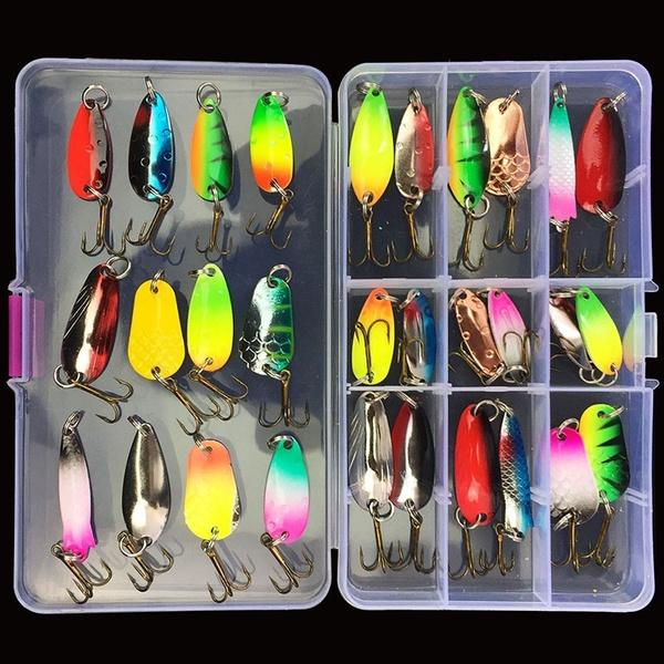 fishinggear, Lures, bait, treblehook