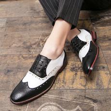 Flats & Oxfords, menfashionshoe, leather shoes, Office