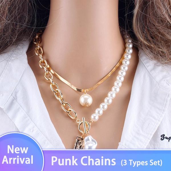 keynecklace, hip hop jewelry, Chain, punk