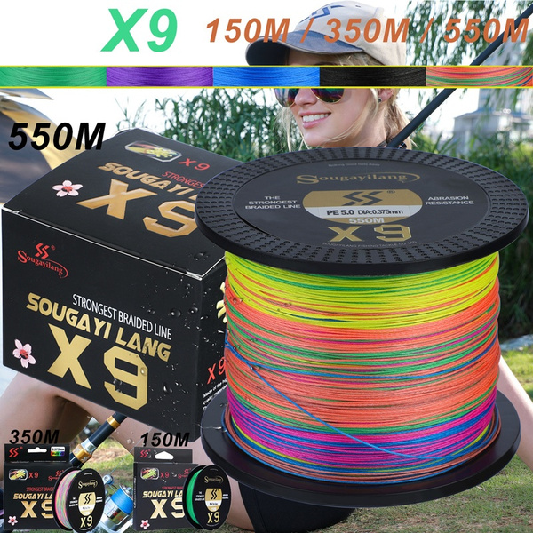 Strong, 9strand, pefishingline, multifilamentfishingline