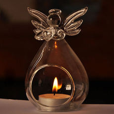 glasscandleholder, Candleholders, lights, Home Decor