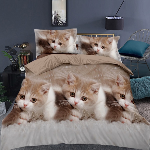 beddingkingsize, Decor, catbedding, bedclothe