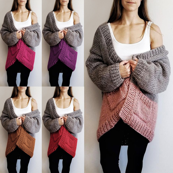knitted, Women Sweater, cardigan, cardigancloak