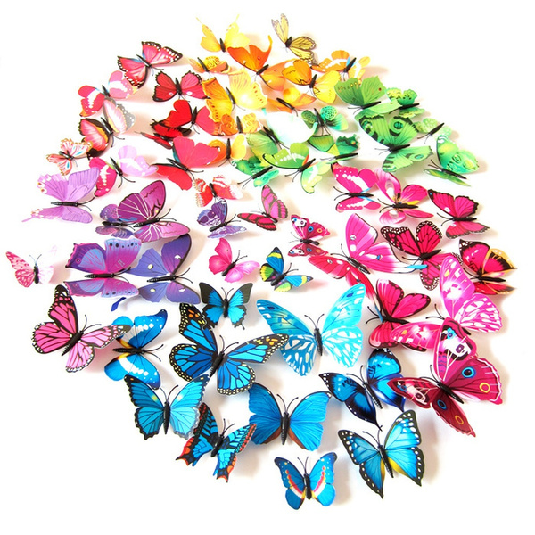 butterfly, simulationbutterfly, art, Magnet