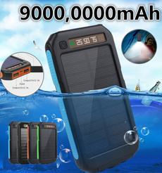 Flashlight, Battery Pack, Battery Charger, Waterproof