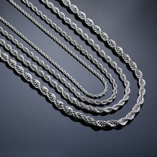 Steel, Chain Necklace, Fashion, Stainless Steel