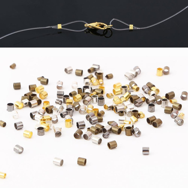 endbead, Antique, crimpendbead, Jewelry