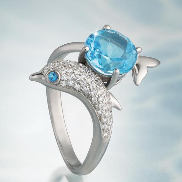 DIAMOND, jewelry fashion, Engagement Ring, Austrian Crystals