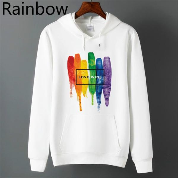rainbow, Fleece, Love, Winter