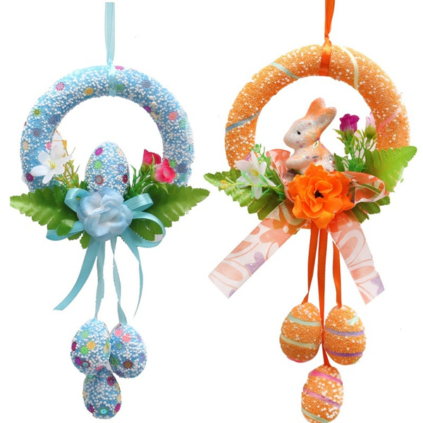 Home Decor, holidaydecoration, easter, wreath