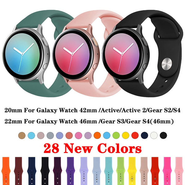 gears3classicwatchband, galaxywatchactive2case, gears3frontierwatchband, Silicone